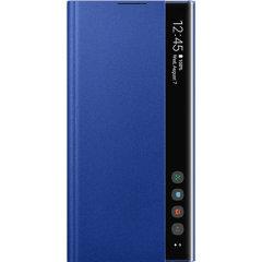 Dieses offizielle Samsung Clear View Cover in Blau ist die perfekte Lösung, um Ihr Galaxy Note 10 Plus-Smartphone zu schützen und sich dank des Clear View-Deckblatts stets über Ihre Benachrichtigungen zu informieren.