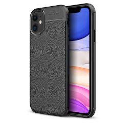 Das iPhone 11 von Olixar bietet mit seiner Attache-Hülle einen Hauch von Premium-Minimalismus. Verleiht Ihrem Gerät einen flexiblen und dauerhaften Schutz mit einer glatten, strukturierten Lederoberfläche.