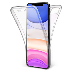At last, an iPhone 11 case that offers complete all around front, back and sides protection and still allows full use of the phone. The Olixar FlexiCover in crystal clear is the most functional and protective gel case yet.