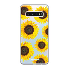 Give your Samsung Galaxy S10 Plus a cute new look with this Sunflower design phone case from LoveCases. Cute but protective, the ultra-thin case provides slim fitting and durable protection against life's little accidents