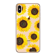 LoveCases iPhone XS Max Gel Case - Sunflowers