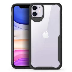 NovaShield från Olixar, som är perfekt för iPhone 11-ägare som letar efter att få utmärkt skydd och som inte kommer att kompromissa Samsungs snygga design, kombinerar perfekt skyddsnivå i ett snyggt och klart bumperfodral.