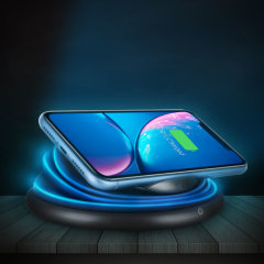 The Flexylight Fast Charge Wireless Charger can charge a smartphone's battery without using any cables, while it adds a color touch thanks to its 4 colors LED lamp.