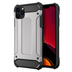 Olixar Delta Armour Protective iPhone 11 Pro Case - Silver