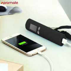 The Promate PowerScale is a useful 3-in-1 travel solution for charging your USB devices with the built-in 2600mAh power bank, torch for lighting up your way and even a weighing scale with display for checking the weight of your luggage.