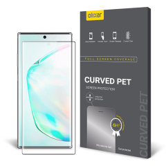 Keep your Samsung Galaxy Note 10 Plus's screen in pristine condition with this Olixar PET scratch-resistant screen protector.