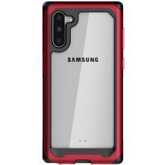 Rust je nieuwe Samsung Galaxy Note 10 uit met de meest extreme en duurzame bescherming die er is! De Ghostek Atomic biedt robuuste bescherming tegen vallen en krassen terwijl de telefoon slank blijft.