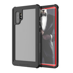 Shield your Galaxy Note 10 Plus on both land and at sea with the extremely tough, yet incredibly stylish Nautical 2 Waterproof case from Ghostek in red. Protecting your Galaxy Note 10 Plus from depths of up to 1 meter for up to 30 minutes.