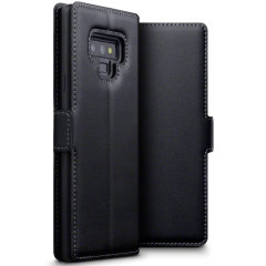 All the benefits of a wallet case but far more streamlined. The Olixar Low Profile in black is the perfect partner for the Samsung Galaxy Note 9 owner on the move. What's more, this case transforms into a handy stand to view media.
