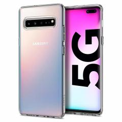 Durable and lightweight, the Spigen Liquid Crystal series for the Samsung Galaxy S10 5G offers premium protection in a slim, stylish package. Carefully designed, the Liquid Crystal case is form-fitted for a perfect fit.