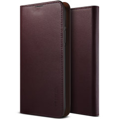 Protect your Note 10 Plus with this precisely designed Genuine Leather Diary case in Wine from VRS Design. Made with genuine leather, this case provides protection, security and a sophisticated look ensuring your Note 10 Plus is ready for any occasion.