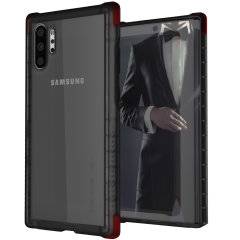 Custom moulded for the Samsung Galaxy Note 10 Plus 5G, the Ghostek tough case in Smoke provides a slim fitting, stylish design and reinforced corner protection against shock damage, keeping your Samsung Galaxy Note 10 Plus 5G looking great at all times.
