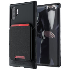 The Exec 4 premium wallet case in Black provides your Samsung Galaxy Note 10 Plus 5G with fantastic protection. Also featuring storage slots for your credit cards, ID and cash.