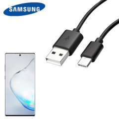 Perfect for charging your Samsung Galaxy Note 10 Plus and syncing files, this official 1.2m bulk packed Samsung USB-C to USB-A cable provides blistering charge and transfer speeds and also supports adaptive fast charging.
