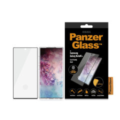 Introducing the premium range PanzerGlass case friendly screen protector. Designed to be shock and scratch resistant, PanzerGlass offers the ultimate protection for your stunning Samsung Galaxy Note 10 Plus. The full fit frame ensures advanced protection.
