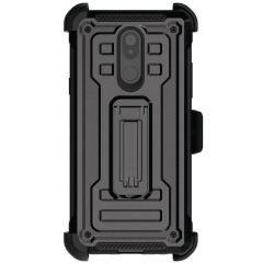 The LG Stylo 5 Iron Armor 2 case in Black from Ghostek provides your LG Stylo 5 with maximum protection all round your phone. This case comes with the added convenience of a holster so that you can use your phone hands-free. This is ultimate protection!