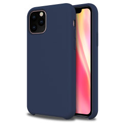 Custom moulded for the iPhone 11 Pro Max, this Midnight Blue soft silicone case from Olixar provides excellent protection against damage as well as a slimline fit for added convenience.