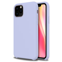 Olixar Soft Silicone iPhone 11 Pro Max Case - Lilac