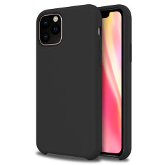 Custom moulded for the iPhone 11 Pro Max, this black soft silicone case from Olixar provides excellent protection against damage as well as a slimline fit for added convenience.