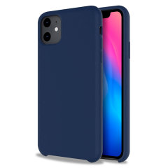 Custom moulded for the iPhone 11, this Midnight Blue soft silicone case from Olixar provides excellent protection against damage as well as a slimline fit for added convenience.