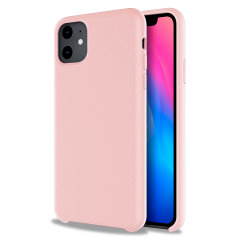 Custom moulded for the iPhone 11, this Pastel Pink soft silicone case from Olixar provides excellent protection against damage as well as a slimline fit for added convenience.