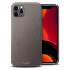 Dit prachtige hoesje van Olixar voor de iPhone 11 Pro is gemaakt van eersteklas echt leer en biedt een verbluffende stijl en prestigieuze bescherming voor je telefoon in een slank en slank pakket.