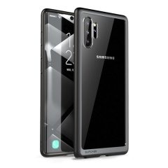 Shield your Samsung Galaxy Note 10 Plus 5G from drops, scratches, scrapes and other damage with the UB Slim Clear case from i-Blason in Black. This case offers superb military grade protection while adding virtually no extra bulk or weight to your device!