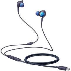 Increíble calidad de audio con estos auriculares oficiales de Samsung, fabricados por ANC, específicamente para el Samsung Galaxy Note 10. Disponen de conexión USB-C para ir conectados directamente al smartphone, sin necesidad de adaptadores.
