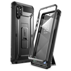 Shield your Samsung Galaxy Note 10 Plus from drops, scratches, scrapes and other damage with the UB Pro Rugged case from i-Blason in Black. This case offers superb military grade protection while adding virtually no extra bulk or weight to your device!