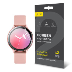 Olixar Samsung Galaxy Watch Active 2 TPU Screen Protectors - 40mm