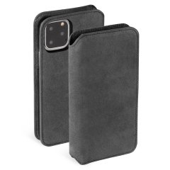 Krusell's Broby Slim Wallet leather case in Stone colour combines Nordic chic with Krusell's values of sustainable manufacturing for the any iPhone 11 Pro owner who seeks 360° protection with extra storage for cash and cards. Convenient for everyday use.