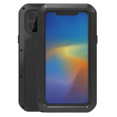 Love Mei Powerful iPhone 11 Pro Max Protective Case - Black