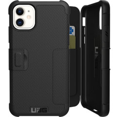 Equip your iPhone 11 with extreme, military-grade protection and storage for cards with the Metropolis Rugged Wallet case in black from UAG. Impact and water resistant this is the ideal way of protecting your phone and providing card storage.