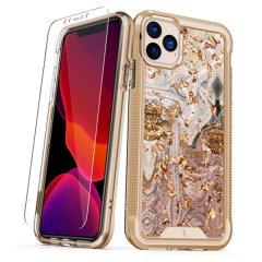 De beschermende Zizo Ion-hoes voor de iPhone 11 Pro biedt je stijlvol bescherming voor je telefoon. Deze hoes is gemaakt voor pure luxe en stijl.