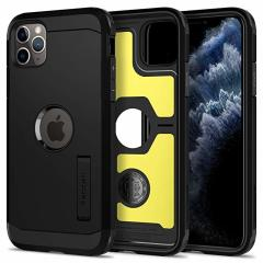 The Spigen Tough Armor in Black is the new leader in lightweight protective cases. The new Air Cushion Technology corners reduce the thickness of the case while providing optimal protection for your iPhone 11 Pro Max.