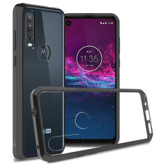 Custom moulded for the Motorola One Action, this black Olixar ExoShield tough case provides a slim fitting, stylish design and reinforced corner protection against shock damage, keeping your device looking great at all times.