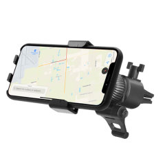 Macally Universal Gravity Linkage Car Air Vent Mount - Black