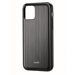 Protect your iPhone 11 Pro with this stylish Moshi iGlaze hybrid case in Armour Black. The iGlaze provides exceptional protection and accentuates your iPhone 11 Pro's elegance through the use of premium materials.