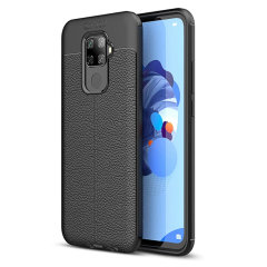 Olixar Attache Huawei Nova 5i Pro Leather-Style Case - Black