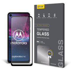 Olixar Motorola One Action Tempered Glass Screen Protector