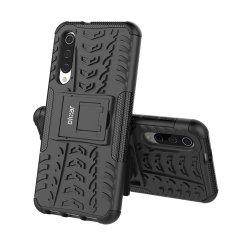Protégez votre Samsung Galaxy A50s des chocs et des éraflures grâce à cette coque Olixar ArmourDillo en coloris noir. Cette coque est composée d'un boîtier interne en TPU et d'un exosquelette externe résistant aux impacts. Elle comprend par ailleurs un support de visualisation intégré.