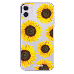 Give your iPhone 11 a playful refresh with this sunflower design phone case from LoveCases. Cute but protective, the ultrathin case provides slim fitting and durable protection against life's little accidents.