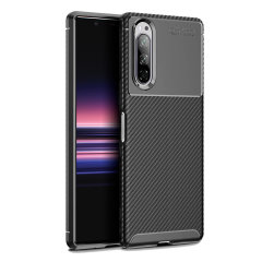 Olixar Carbon Fibre case is a perfect choice for those who need both the looks and protection! A flexible TPU material is paired with an eye-catching carbon print to make sure your  Sony Xperia 5 is well-protected and looks good in any setting.