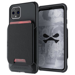 The Exec 4 premium wallet case in Black provides your  Google Pixel 4 with fantastic protection. Also featuring storage slots for your credit cards, ID and cash.