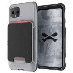 The Exec3 premium wallet case in Grey provides your  Google Pixel 4 with fantastic protection. Also featuring storage slots for your credit cards, ID and cash.