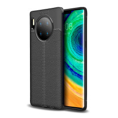 Olixar Attache Huawei Mate 30 Pro Leather-Style Protective Case -Black