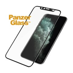 PanzerGlass iPhone 11 Pro Max Glass Screen Protector - Black