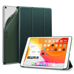 "Protect your iPad 10.2"" 2019 / 2020 with this supremely functional Green case with viewing stand feature. Also features smart sleep / wake functionality."