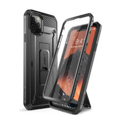 The thinnest and most rugged case in the industry, the UB Pro has survived 30-foot drops, gunshots, and wipeouts. With 360° flexible TPU polycarbonate, a built-in kickstand, and complete protection this case is perfect for the iPhone 11 Pro Max.