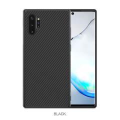 Nillkin Synthetic Fibre Samsung Galaxy Note 10 Plus 5G Case - Black